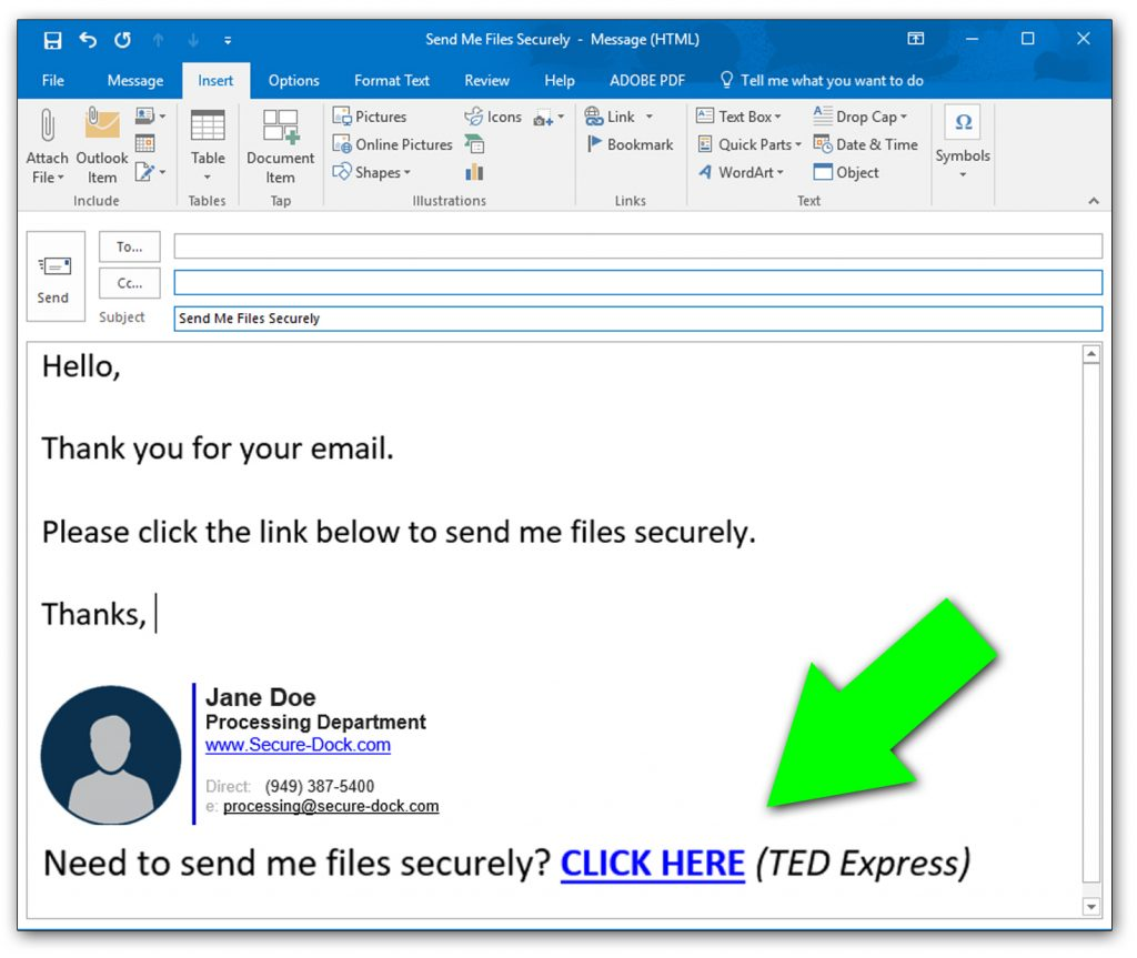 TED Express – FAQs / User Help Guide – SecureDock, LLC